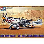 North American F-51D Mustang Korean War - 1:48 Aircraft - Tamiya