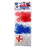 Jacks England National Team Bracelet Refill Pack - 250 Loom Bands