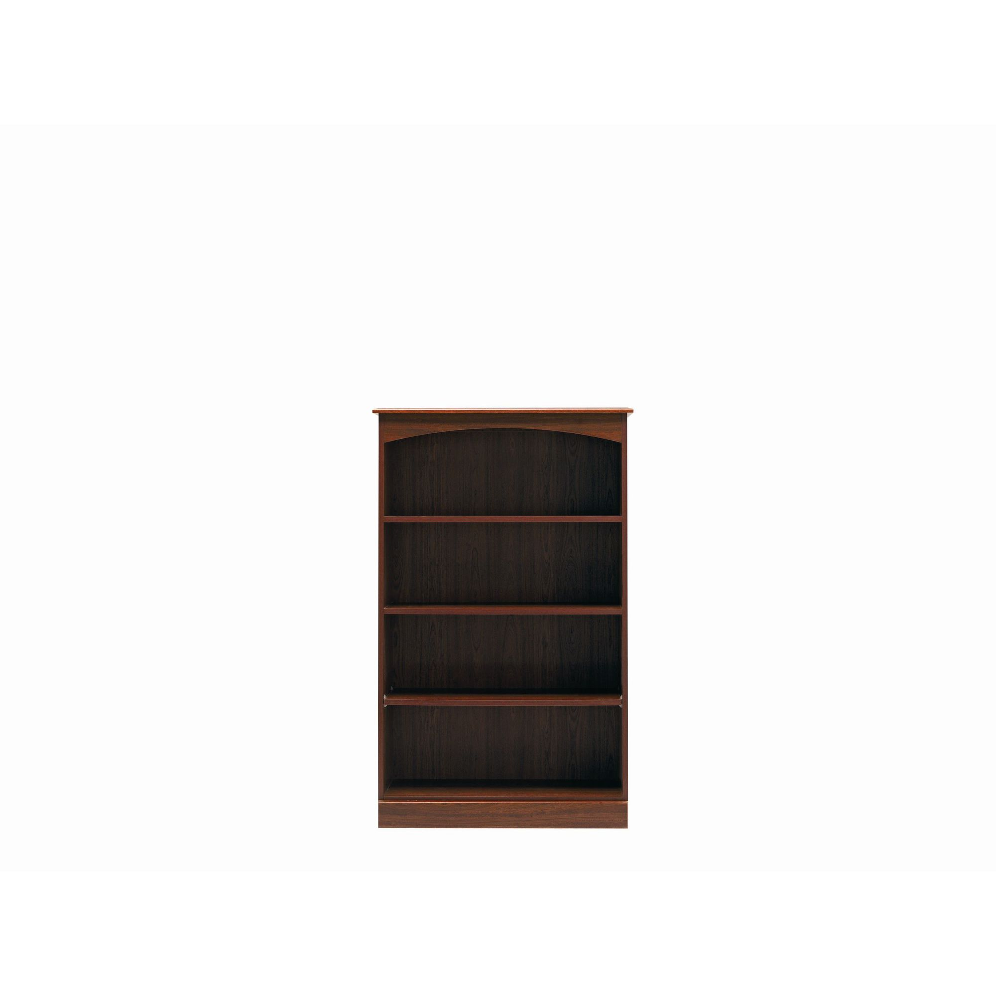 Caxton Byron Medium Height Wide Bookcase in Mahogany at Tesco Direct