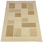 Rugs with Flair Visiona Soft Brown Contemporary Rug/Runner - Runner 60cm x 230cm
