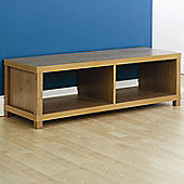 Elements Utah Wide TV Stand - Oak