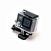 Sports Cam HD Action Camera 1080p with 2.0 Screen and Waterproof Case (30m) + 10 mountings and accessories
