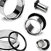Urban Male Surgical Steel Ear Stretching Flesh Tunnels Nine Piece Starter Kit