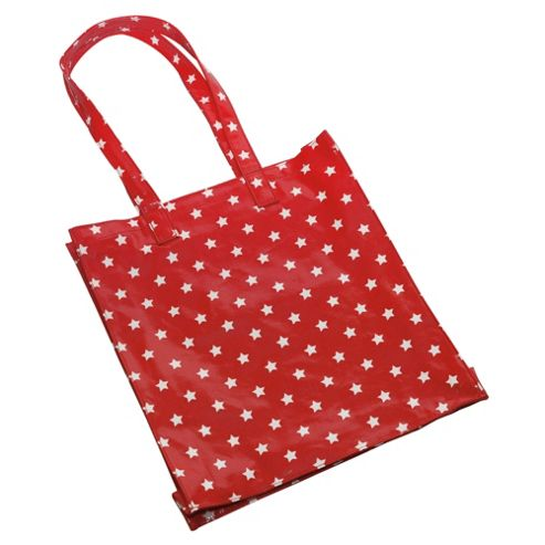 Tesco Canvas Shopping Bag, Red