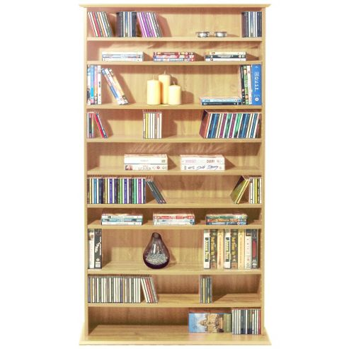 Techstyle CD / DVD Blu-ray / Video Multimedia Storage Shelves