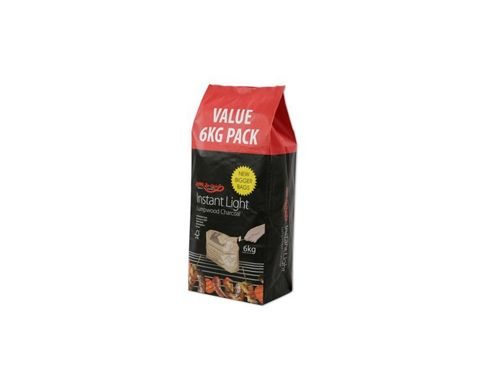 Bar-be-quick Instant Light Charcoal 6Kg
