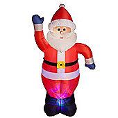 6' Waving Santa Light Show