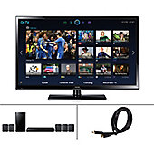 Samsung PS43H4500 43 inch Plasma TV inc HT-H4500 Home Theatre System & 2.5m HDMI Cable