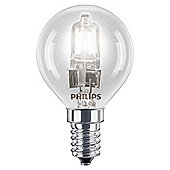 Philips EcoClassic Dimmable Halogen Luster Light Bulb (42W E14 P45) 1CT/12 SRP