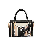 F&F Colour Block Winged Tote Bag One Size Multi