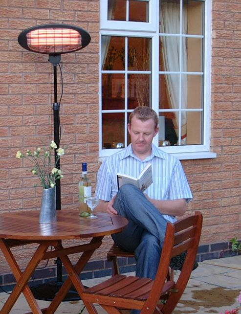 Greenhurst 3-in-1 Electric Standing Patio & Indoor Heater