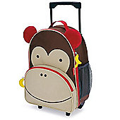 Skip Hop Zoo Luggage Trolley Case - Monkey