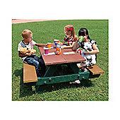 BrackenStyle Junior Picnic Table - Multi-coloured