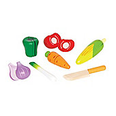 Hape Food Set Bundle - Fresh Fruit And Garden Vegetables