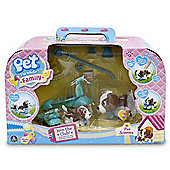 Pet Parade Family Scooter Playset