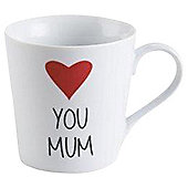 Tesco I Love Mum Mug Single