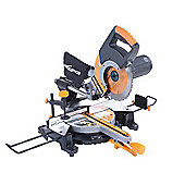 Evolution RAGE-3+ 255mm Self Assembly Sliding Mitre Saw 2000 Watt 240 Volt