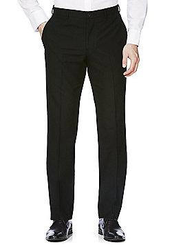 F&F Black Slim Fit Suit Trousers - Black