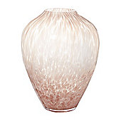 Casa Couture Onion Confetti Vase, Plum And White