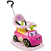 Smoby Auto Bascule Rose 4 in1 ride on car