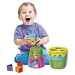Tomy Stack Post, Pour & Play