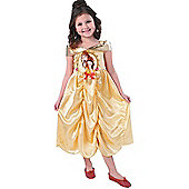 Child Disney Golden Belle Costume Small