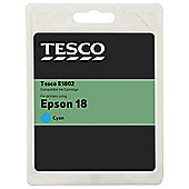 Tseco (Epson T1802) printer ink cartridge - Cyan