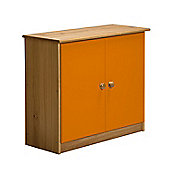 Verona Mid-Sleeper Cupboard Colour Antique and Orange