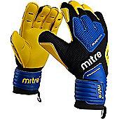 Goalkeeper Gloves Mitre BRZ Academy - Black & Blue