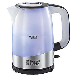 Russell Hobbs Brita Purity Kettle, 1L - Stainless Steel