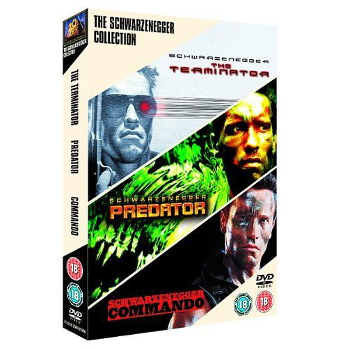 Schwarzenegger Triple - Terminator/Predator/Commando (DVD Boxset)