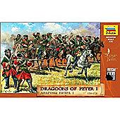 Zvezda - Dragoons Of Peter 1 1701-1721 - 1:72 Scale 8072