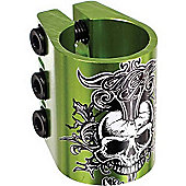 Madd Gear HeadAche Triple Collar Scooter Clamp - Green
