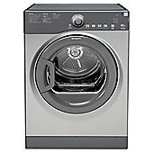 Hotpoint TVYL655C6G Vented Tumble Dryer, 6kg Load, C Energy Rating, Graphite