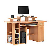 Alphason San Diego Workstation with Cupboard