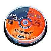 Maplin Intenso DVD+RW 4.7GB Storage Blank Media Discs, 10-pack