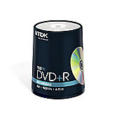 TDK DVD-R 4.7GB 16X 100 Tub