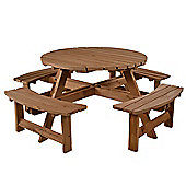 York 8 seat Round Picnic Table