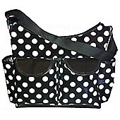 Miracle Chic Changing Bag Black Spot
