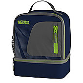 Thermos Radiance Blue Dual Compartment Lunch Bag
