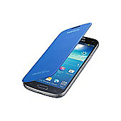 Samsung Original Galaxy S4 Mini Flip Case - Cyan