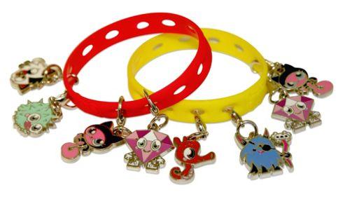 Moshi Monsters Bracelet & 2 Charmlings