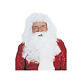 Rubies Fancy Dress - Santa Wig and Beard Set - ADULT ONE SIZE