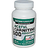 Jarrow Alca 500 Acetyl-L-Carnitine Arginate 100 Capsules