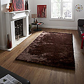 Oriental Carpets & Rugs Sable Brown Tufted Rug - Runner 120cm L x 60cm W