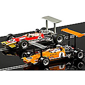 Scalextric Slot Car C3544A Gp Legends - Mclaren M7 Vs Team Lotus Type 49