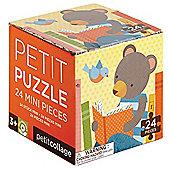 Petit Collage Reading Bear Petit Puzzle