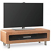 Alphason ABR1100CB Light Oak TV Stand