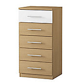 Urbane Designs Sorrento 5 Drawer Chest