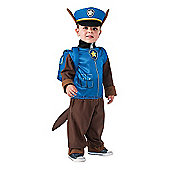 Paw Patrol Chase Small Costume with Headpiece and Pup Pack